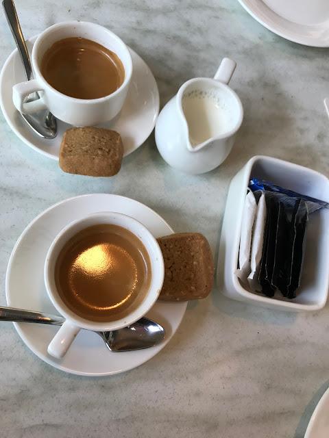 Huber's Bistro, coffee
