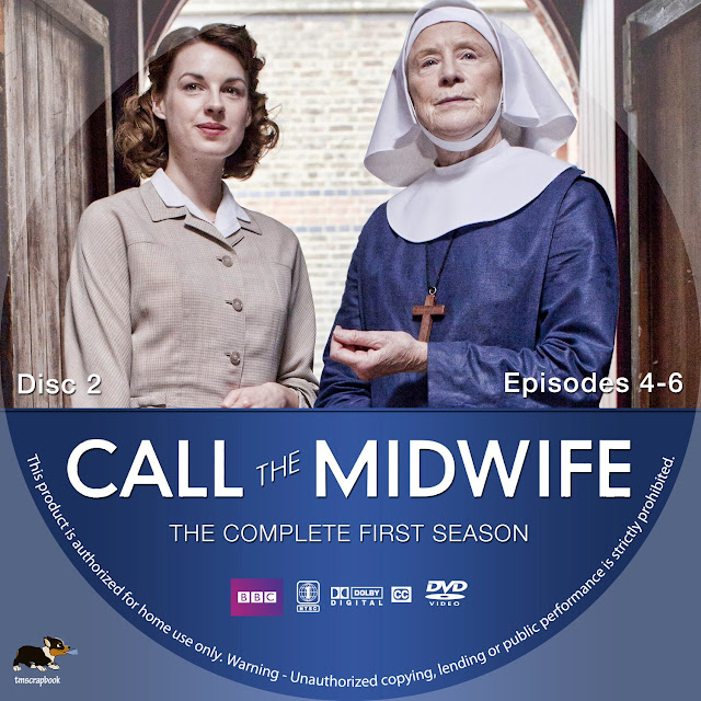 Call The Midwife Season 1 Disc 2 DVD Label