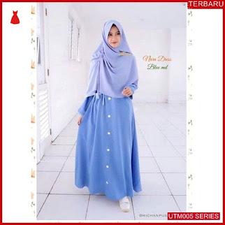 UTM005N43 Baju Nara Muslim Set Dewasa Dress UTM005N43 005 | Terbaru BMGShop