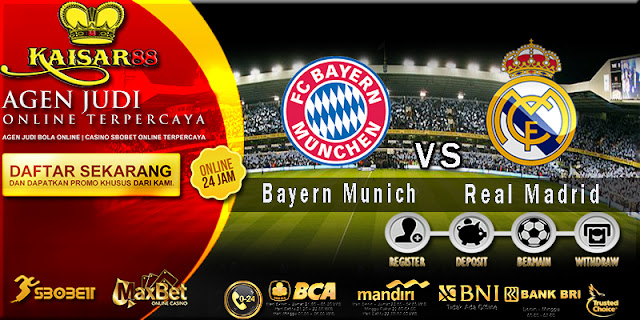 Prediksi Bola Jitu Bayern Munich vs Real Madrid 26 April 2018