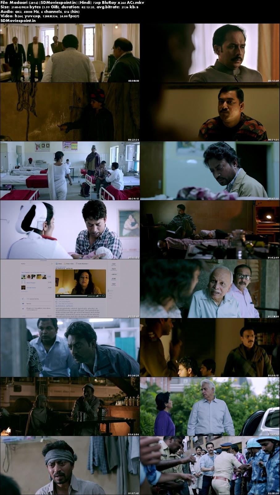Screen Shots Madaari (2016) Full HD Movie Dwownload 720p
