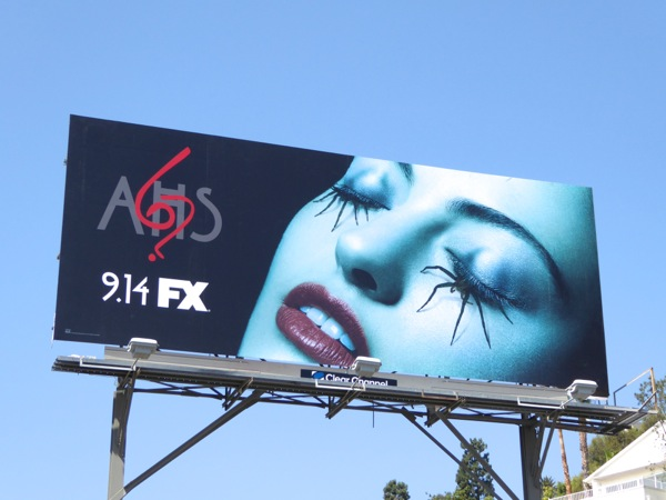 American Horror Story season 6 spider eyes billboard