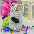 New fashion black ballet girl mobile cover case for Samsung and iPhones