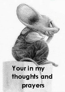 thoughts and prayers mouse image
