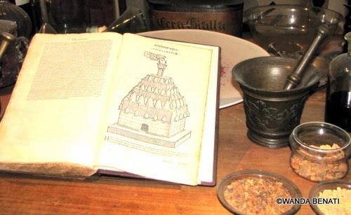 Museo del Profumo a Vemezia: l'Erbario Mattioli