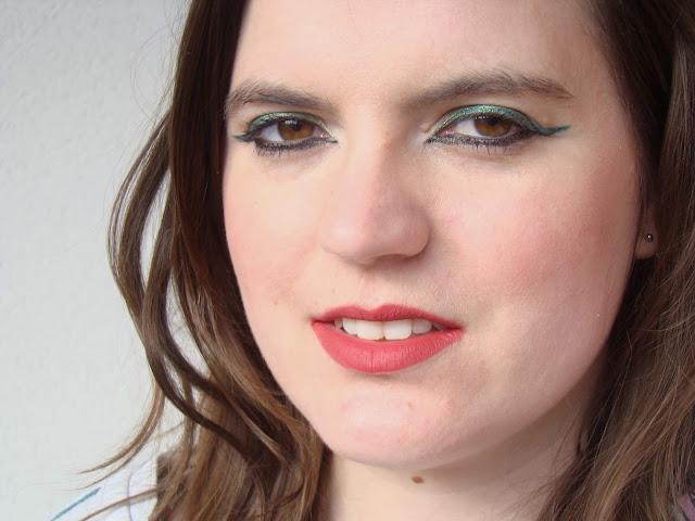 Maquillage soirée de printemps