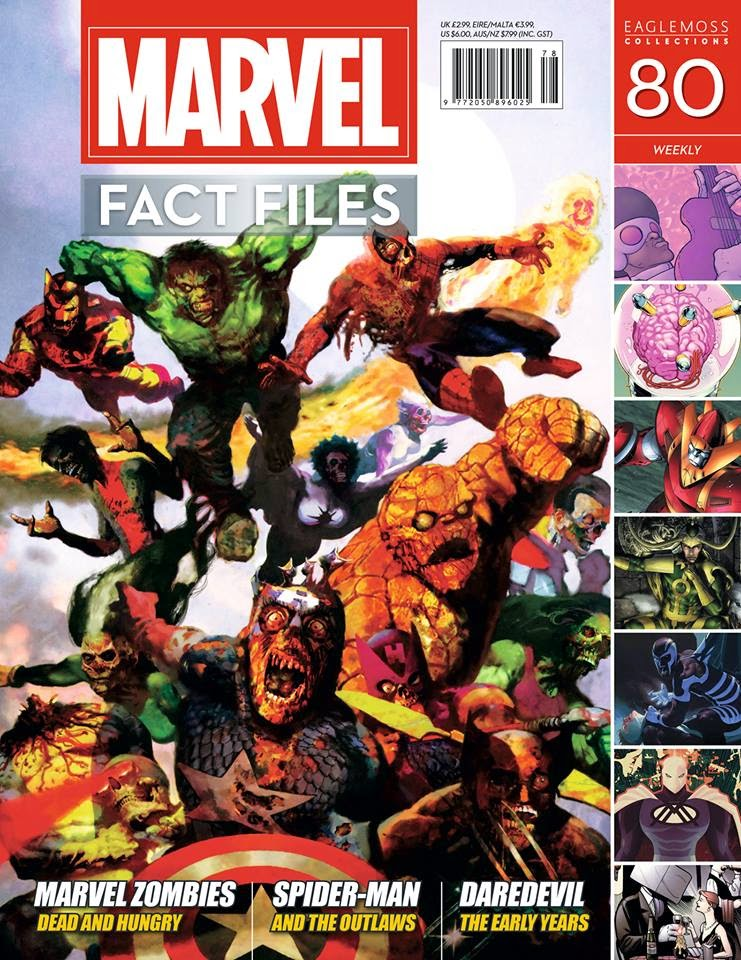 Marvel Fact Files - Zombies