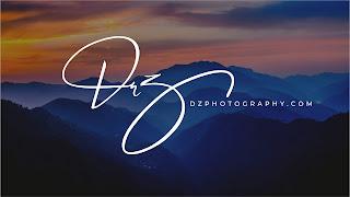 Photography Fotoğrafçı logo tasarımı imza dz png psd