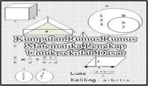 Kumpulan Rumus Matematika SD 2017