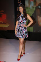 Kyra Dutta in a Deep neck Small Dress at Shamanthakamani pre release function ~  Exclusive 095.JPG