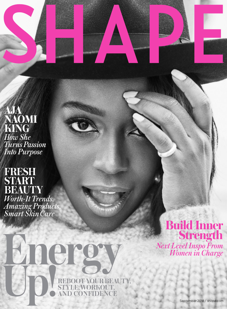 Aja Naomi King Magazine Cover