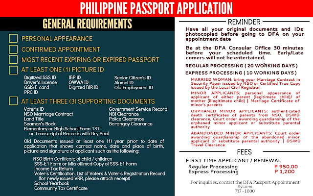 Passport Application How to Applying for a Philippine Passport