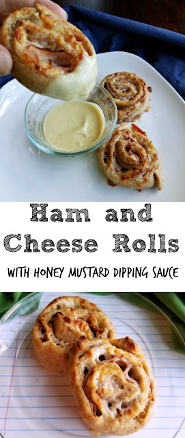 These take the classic ham and cheese sandwich to a fun new level! Make the honey mustard dipping sauce to bring it all together. Whether you need a fun new lunch idea or a hearty savory snack, these will surely do the trick!
