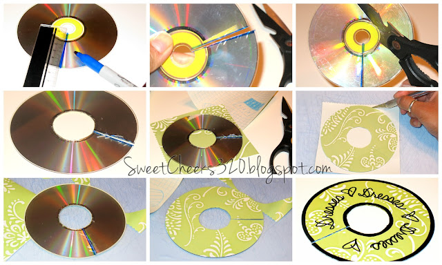 Charmant 7. DIY Closet Dividers From CDs