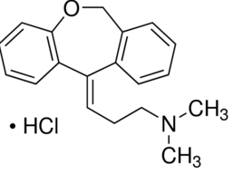 Doxepin hydrochloride Structure