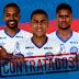 Bahia oficializa contratação de três reforços