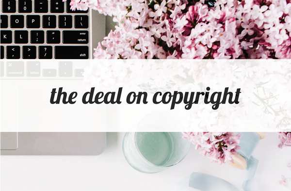 The Deal on Copyright // Eliza Ellis