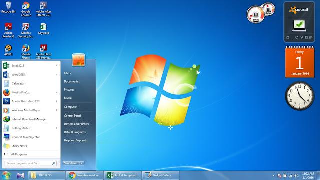 Inilah Kelebihan Dan Kekurangan Dari Windows 7