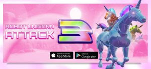 Robot Unicorn Attack 3 Mod Apk Unlimited Money v1.0.6 Terbaru