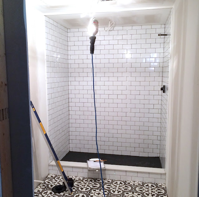 Bathroom Renovation Tile - Harlow and Thistle