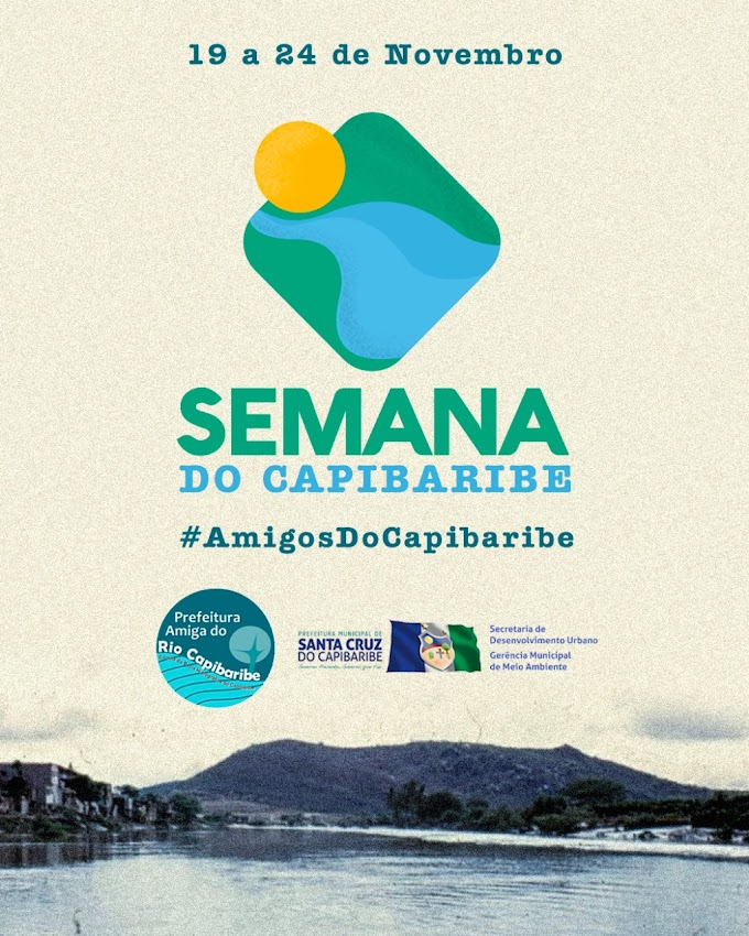 Semana do Rio Capibaribe será realizada em Santa Cruz