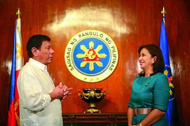 Leni Robredo Thanks Rodrigo Duterte After He Promises She Will Not Be Unseated From the Vice Presidency