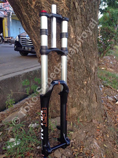 Fork Dual Crown Rst Killah Travel 200
