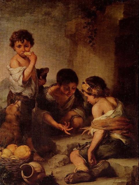 Murillo - Niños jugando con los dados - 1665-75