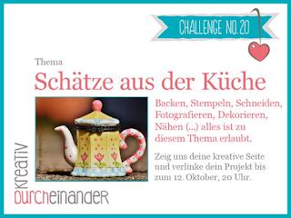 http://kreativ-durcheinander.blogspot.com/2016/09/20-schatze-aus-der-kuche.html