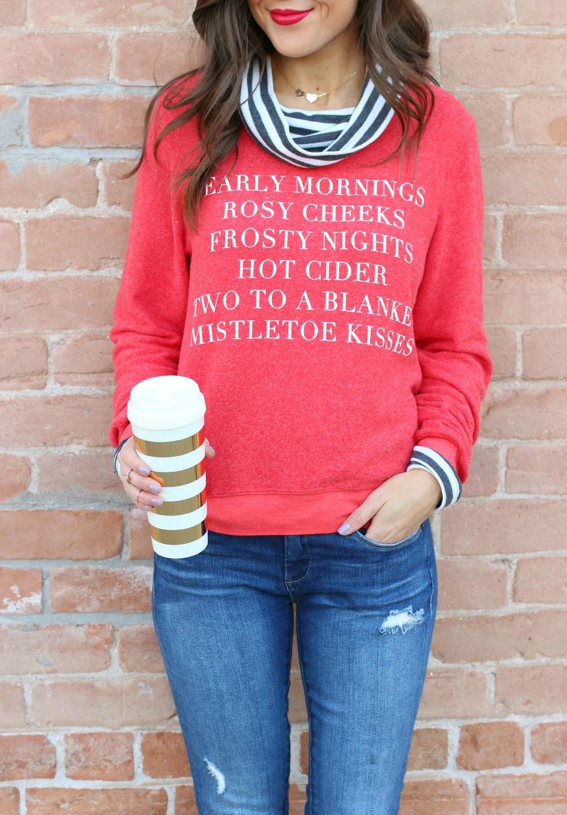 Holiday List Sweatshirt