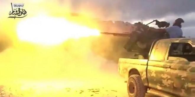 Pejuang Suriah Berhasil Kontrol Beberapa Titik Strategis