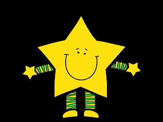 Similing Stars Clip Art.