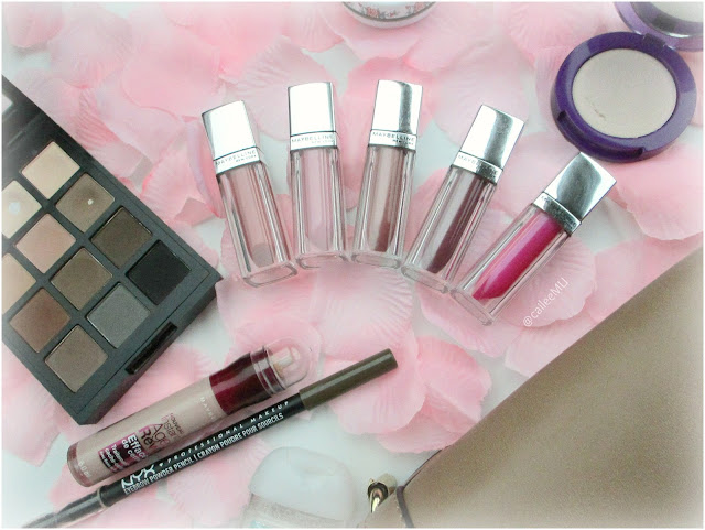 Lip Love: Maybelline Color Elixir Glosses | My Collection + Swatches