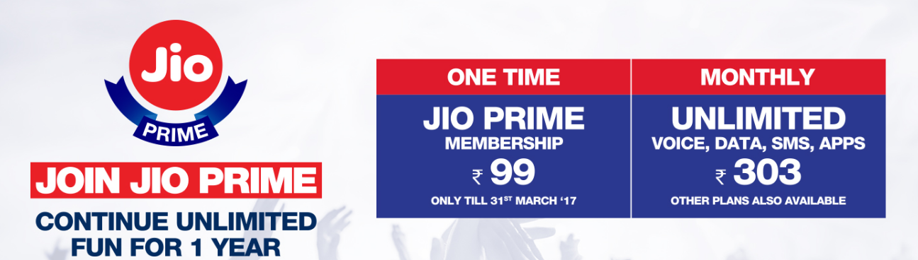 How to enroll for Jio Prime Membership to avail free unlimited data for 12 months