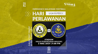 Live Streaming Pknp vs Pahang Liga Super 2.3.2019