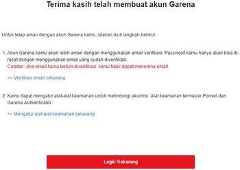 buat akun garena indonesia