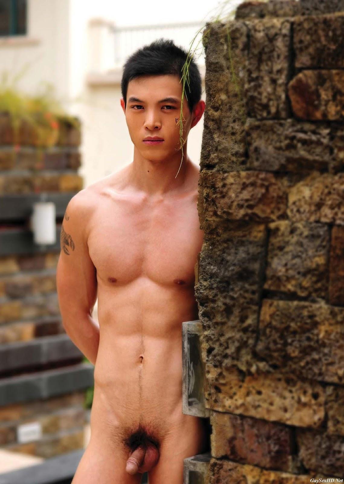 Naked male models asian