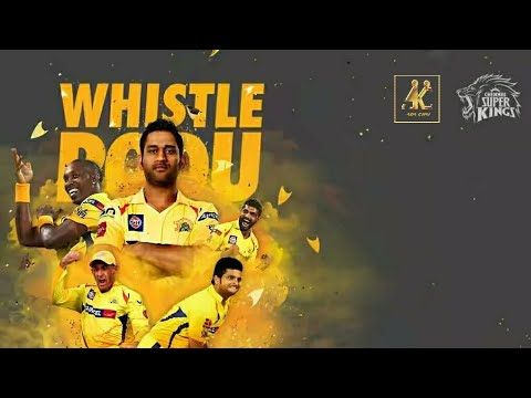 dhoni csk whistle whatsapp status