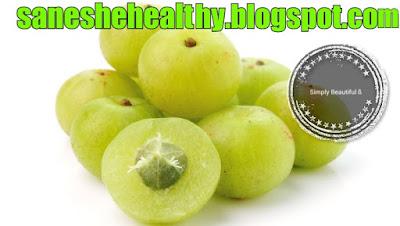 Indian gooseberry juice or amla juice is good for health.