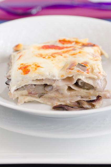 Lasagne al radicchio di Treviso e Provolone gustoso