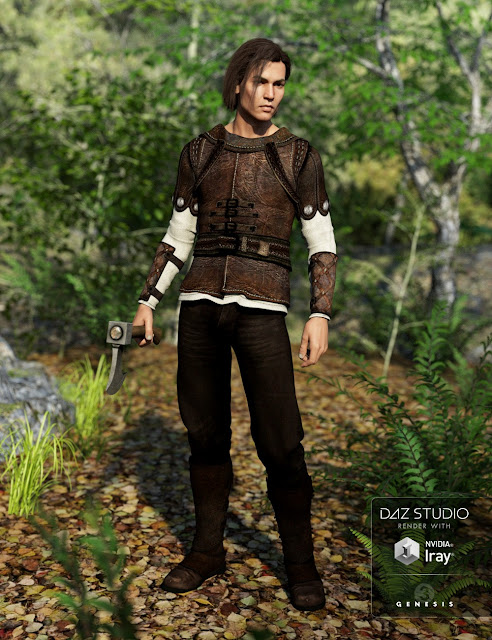 The Huntsman Outfit for Genesis 3 Male