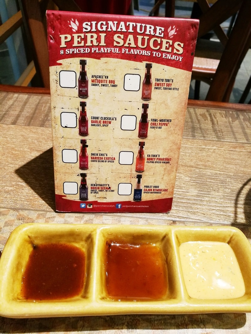 The signature 8 Peri-Peri Chicken Sauce