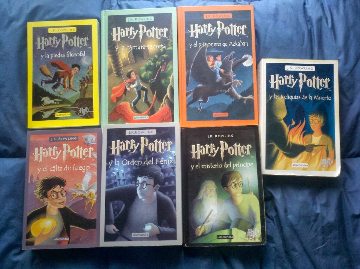 Coleccion Completa De Libros De Harry Potter En Español La Zocuteca Super ReseÑa Abierta De Harry Potter