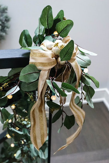 Canadian Tire Christmas Inspiration Gold Garland Decoration