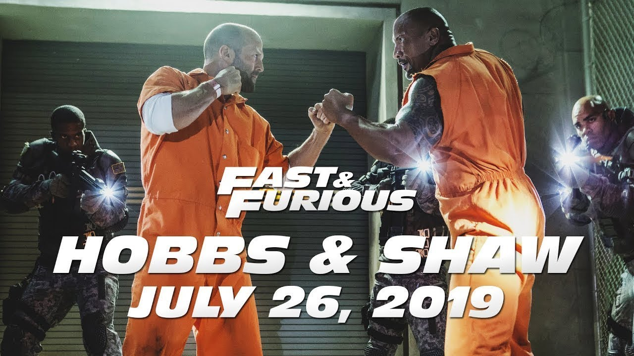 Fast Furious Present Hobbs Shaw With An Exciting