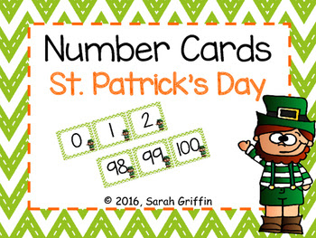 https://www.teacherspayteachers.com/Product/Number-Cards-St-Patricks-Day-0-100-2287717
