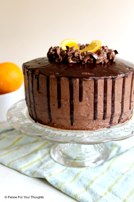 Jaffa Layer Cake