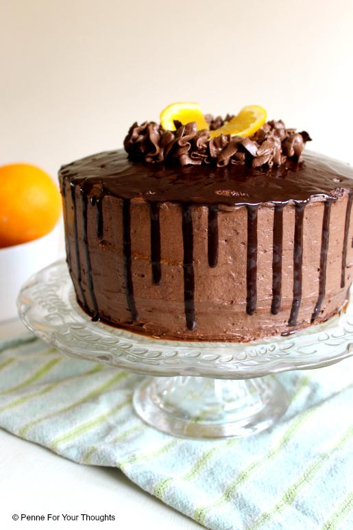 Jaffa Layer Cake