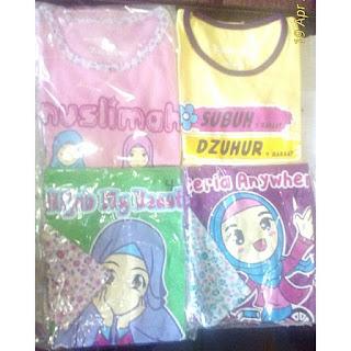 Kaos Dakwah Anak Muslim