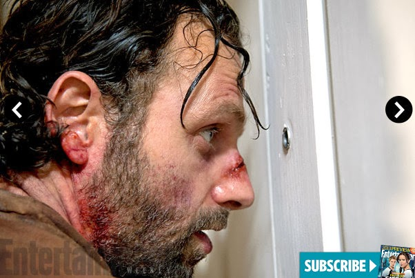 The Walking Dead 4x09 en EW - Rick